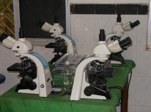 COMPUND MICROSCOPE ( TRINOCULAR) WITH CAMERA ATTACHMENT
